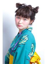 アレンジ あくまちゃんつの付きセット アニマルヘアー アニマル.19
