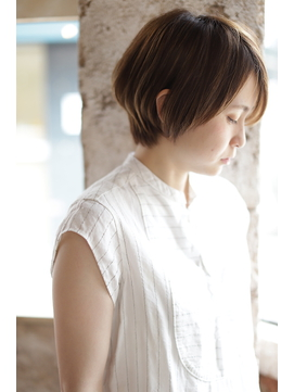 【+~ing  deux】compact ノーブルショート 【上川渡紗穂】