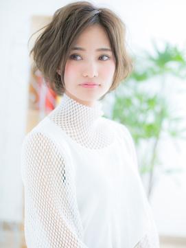 【浅草美容院HANARE】ウルフパーマ!ニュアンスグランマッシュa