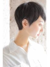 【+~ing 】黒髪ベリーショートのサイドSTYLE【柳沼くるみ】.33