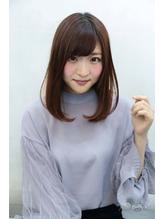 【ハピネス西大寺】小顔ワンカールボブ×前髪パーマ.25