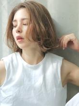 【Astar】ルーズウェーブボブ セミディ リラックス 抜け感.29