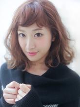 【RAD銀座】くびれセミディ×オン眉斜めバング.46