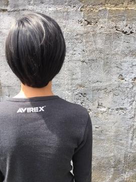 【Reir下北沢】*+AVIREXグレー+2ブロックショート+*