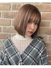 【No.8*岩切祐樹】ボブ×ミルクティーカラー .8