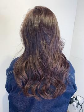 【DOUBLE.N新小岩】グレージュ/白髪染めデザインカラー