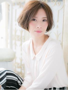 *CUORE松戸*…ひし形フォルム&センターパートが作る小顔美人a