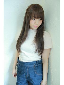 【Sourire blanc】ラフストレート☆大人美髪
