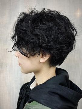 【The Pond Hair 伊藤】マニッシュスパイラルパーマ