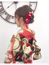 横浜市戸塚★着付けヘアセット、結婚式、成人式、卒業式、七五三.7