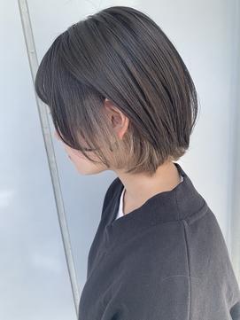 ★イヤリングカラー ミルクティーベージュ★nina