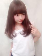 【 Jibu 】ピンクブラウンカール .59