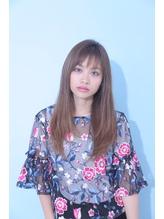 ☆Zina☆透けバング×無造作ストレート.52