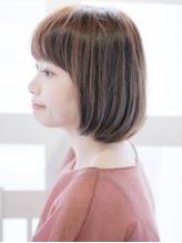 【しっとり艶々♪カット+VIPアルガンカラー¥6450】髪にも頭皮にも優しいオーガニック薬剤使用!