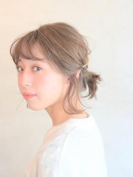 【ヘアアレンジ】バレッタポニーテイル