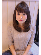 【ReiZ渋谷】ノームコア×うぶバング=女子アナ風☆6 女子アナ.49