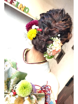 [affino大宮]hair arrange☆