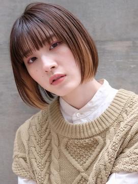 【New(3月)】ボブカット×インナーカラー