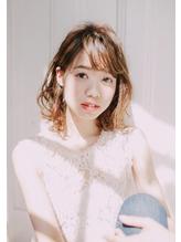 ふんわりパーマ×外国人風アッシュ 鶴川 美容室 ウイングス.48