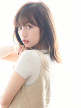 【イルミナカラー】の透け感マーメイドアッシュ×くびれセミディ.8