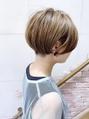 【morio成増】大人かわいい2ブロック刈り上げショートボブ