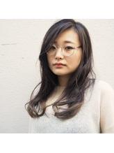 【CUBE】飾らないロングスタイル +メガネ.53
