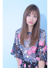 ☆Zina☆透けバング×無造作ストレート3.54
