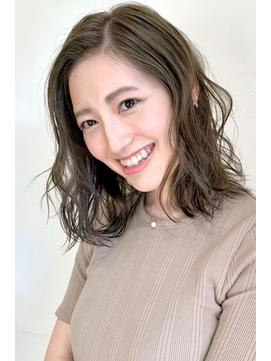 マットアッシュ×グレージュ=秋色カラー【レセ新松戸DEUX店】