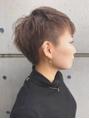 【MONOTYPE ERIKO】個性派ベリーショートツーブロック_青山