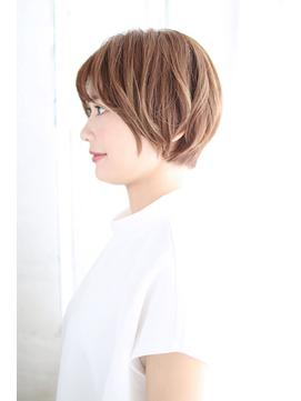 前髪イメチェンくびれイヤリングカラー美髪ラベンダーカラー/011