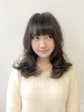 【TOMCAT新宿】ふんわり女子の暗髪アッシュ