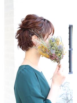 【ALBERO】ショートヘアアレンジ