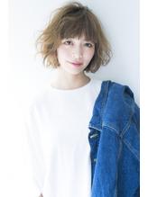 【air-FUKUOKA】大人かわいいカールワンレンボブ.36