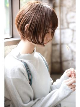 【+~ing deux】大人可愛い3Dカラー丸みショート【辻口 俊】