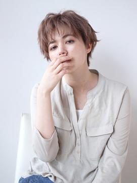 【K-two青山】ほつれ感がオシャレ!抜け感センシュアルショート