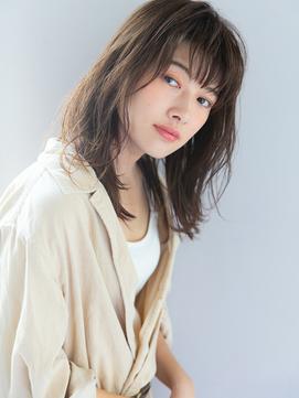 【富山大介】大人小顔厚めバングボブ×ツヤ髪ボルドーカラー