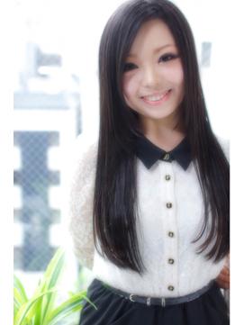 黒髪ロングで大人愛されスタイル@西梅田