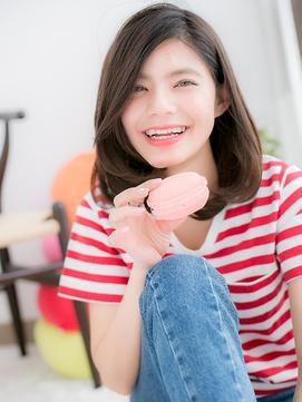 【macaron】ふんわり☆コットンカールミディ