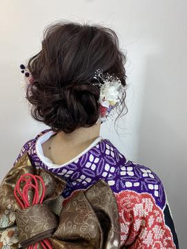 【春日井/marry】成人式ヘアセット