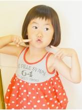 短めバングのボブ・キッズ☆ ママ.55