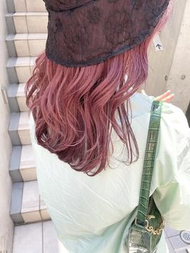 デザインカラー/ピンクカラー/豊岡