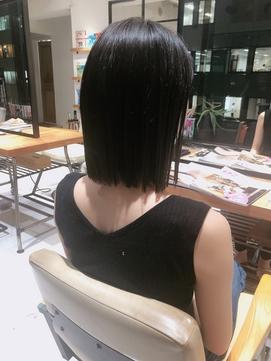 【新宿 studio noll. 小田木】ナチュラルストレートボブ_200802