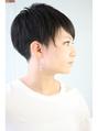 大人女性のまるみある刈り上げスタイル【RENJISHI 渡邊陽平】