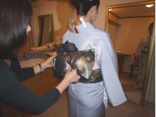 着付け(訪問着)¥6000◆飾り帯結び+¥500でOK♪