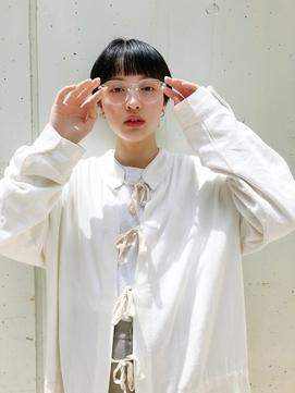 『イメチェンぷつっと前髪ショート』Daisy duex 天神 大名