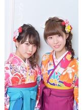 《Barretta/蒲田》☆卒業式☆袴・着付け☆リラックスアレンジ☆  バレッタ.9
