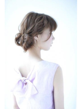 オトナ可愛いまとめ髪