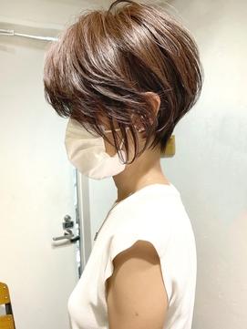 絶壁解消・ひし形・くびれ・大人ショートボブ・30代40代【猪狩】