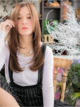 "*+COVER HAIR+*…センターパート小顔""イノセントロング""a パーティ.14"