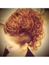 モヒカン盛り髪アップ 盛り髪.33
